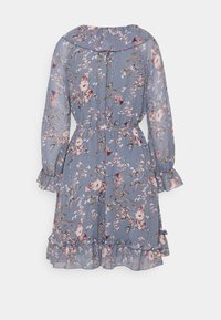 ONLY - ONLMAISIE FRILL DRESS - Day dress - cloud dancer/blueish - 1