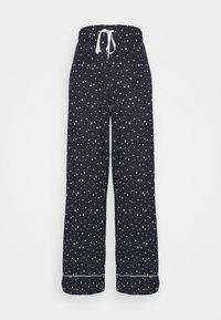 PIPING PANT - Pyjama bottoms - navy