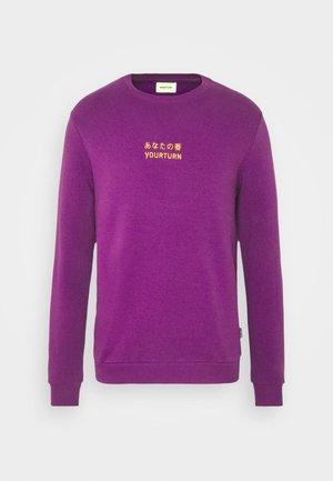 Sweatshirt -  purple