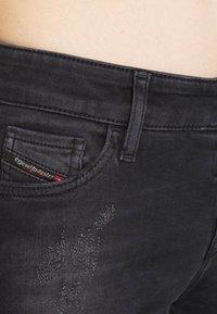 Diesel - SLANDY - Jeans Skinny Fit - dark grey - 6