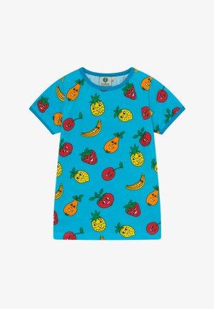 FRUITS - Print T-shirt - blue atoll