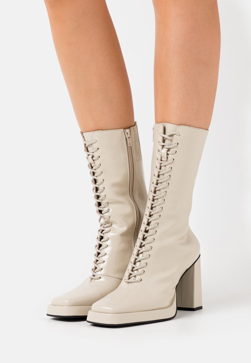 Jeffrey Campbell - TESTINO - High heeled boots - ivory box