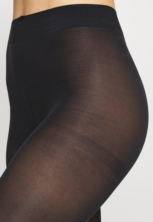 GLITTER BLOW TIGHT STYLE - Sukkahousut - black
