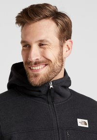 The North Face - GORDON LYONS HOODIE - Veste polaire - black heather - 3