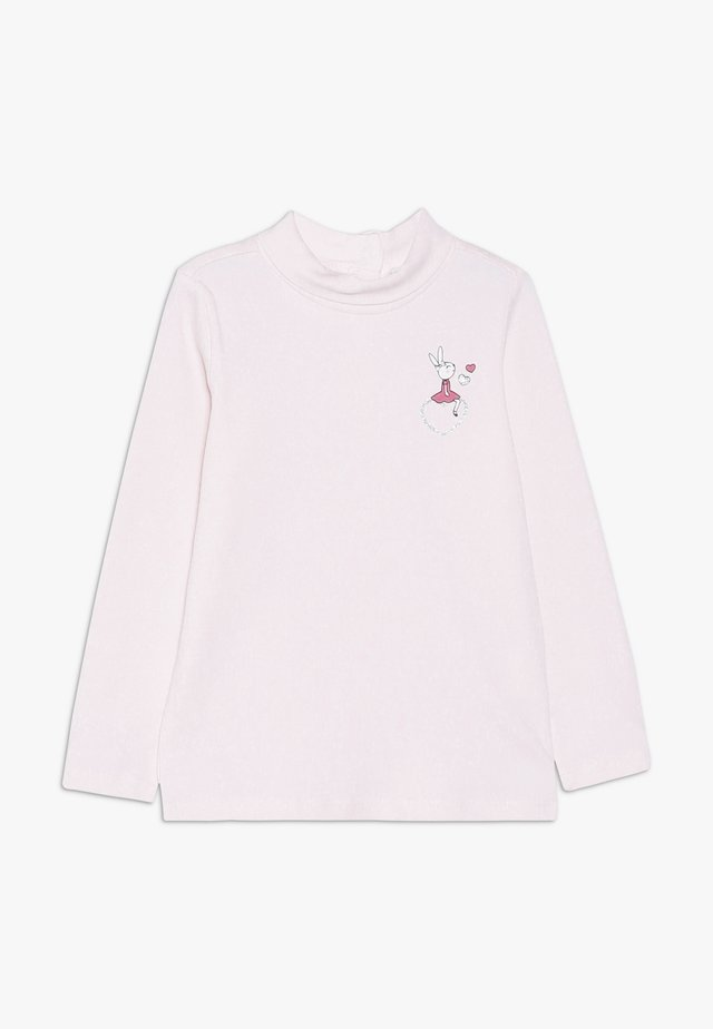 BABY PRINT 2 PACK - Maglietta a manica lunga - barely pink/brilliant white