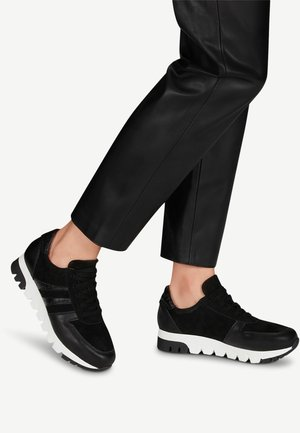 LACE UP - Trainers - black lea.comb