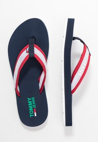 Tommy Jeans - RECYCLED BEACH SANDAL - Flip Flops - twilight navy - 3