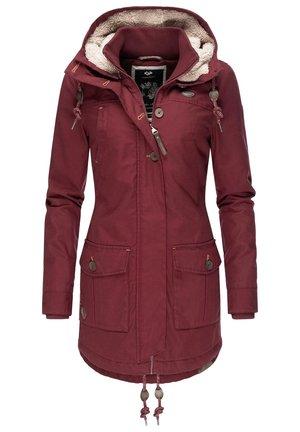 JANE - Winter coat - wine red
