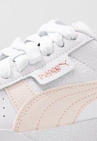 Puma - CALI - Baskets basses - white/rosewater - 2