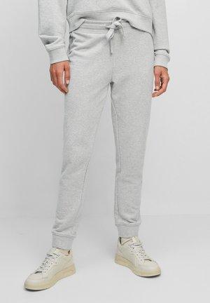 Pantaloni sportivi - stony grey melange