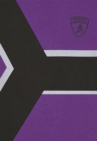 Automobili Lamborghini Kidswear - CONTRAST Y - Print T-shirt - purple melange - 2