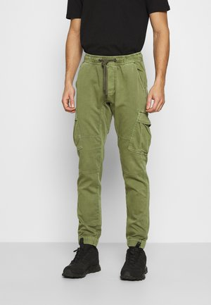 BARKS - Cargo trousers - army