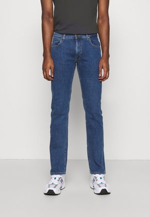 DAREN ZIP FLY - Jeans a sigaretta - mid stone wash