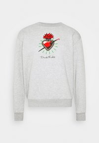 FREDA KAHLO HEART CREW - Sweatshirt - grey marl