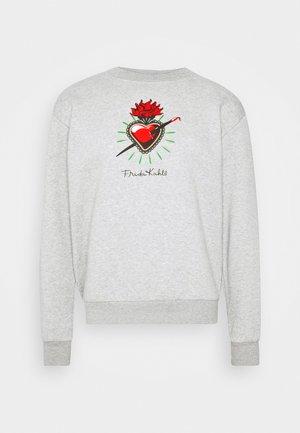 FREDA KAHLO HEART CREW - Sweater - grey marl
