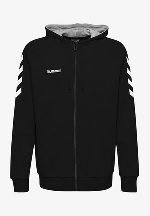 HMLGO - Zip-up hoodie - black