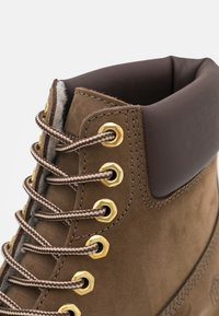 Lumberjack - RIVER - Lace-up ankle boots - taupe - 5
