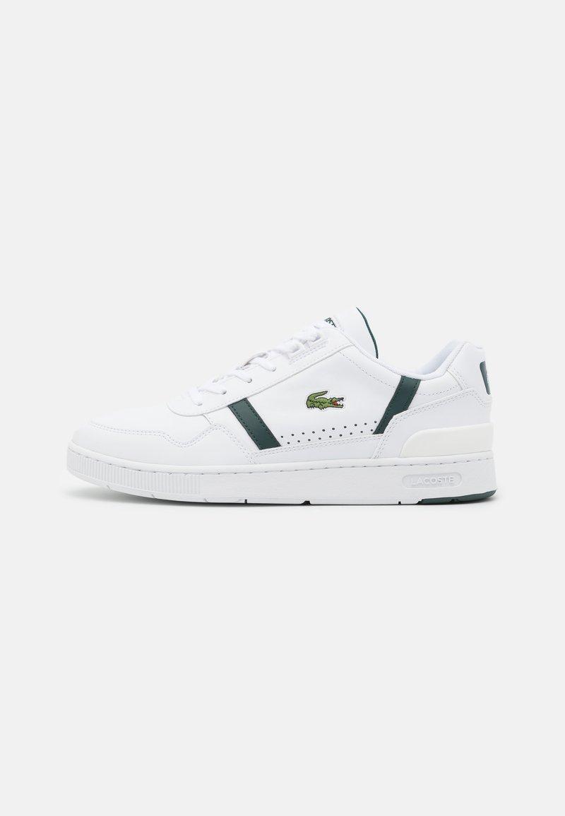 Lacoste - T-CLIP - Tenisky - white/dark green