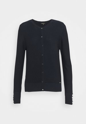 BUTTON DOWN CARDIGAN - Kardigan - marine