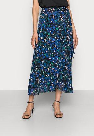 BOBO FRILL SKIRT - Wrap skirt - black/mint