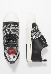 Love Moschino - LABEL SOLE - Trainers - black - 3