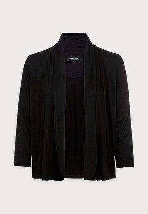 SANDRINE SOFT - Cardigan - black