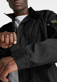 G-Star - SPORTY SLANTED POCKET INDOOR - Summer jacket - dk black - 3