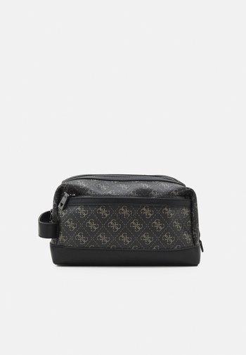 VEZZOLA BEAUTY CASE UNISEX - Wash bag - dark black