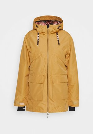BRIDIE JACKET - Snowboard jacket - curry
