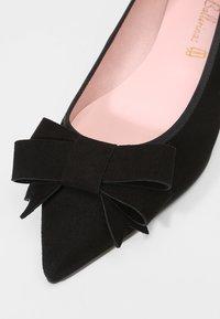 Pretty Ballerinas - ANGELIS - Baleríny - black - 2