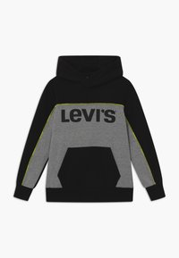 Levi's® - PIPED HOODIE - Jersey con capucha - black - 0