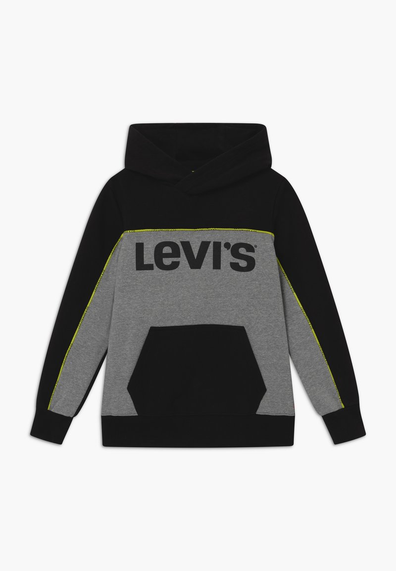 Levi's® - PIPED HOODIE - Jersey con capucha - black