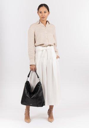 SALLY - Shopping bag - black