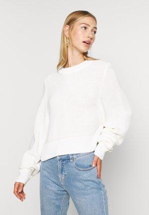 KAIJA - Stickad tröja - offwhite