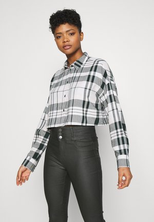 KELLY CROP BLOUSE - Bluse - green