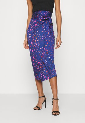 SPLICE FLORAL WRAP JASPRE - Pencil skirt - multi