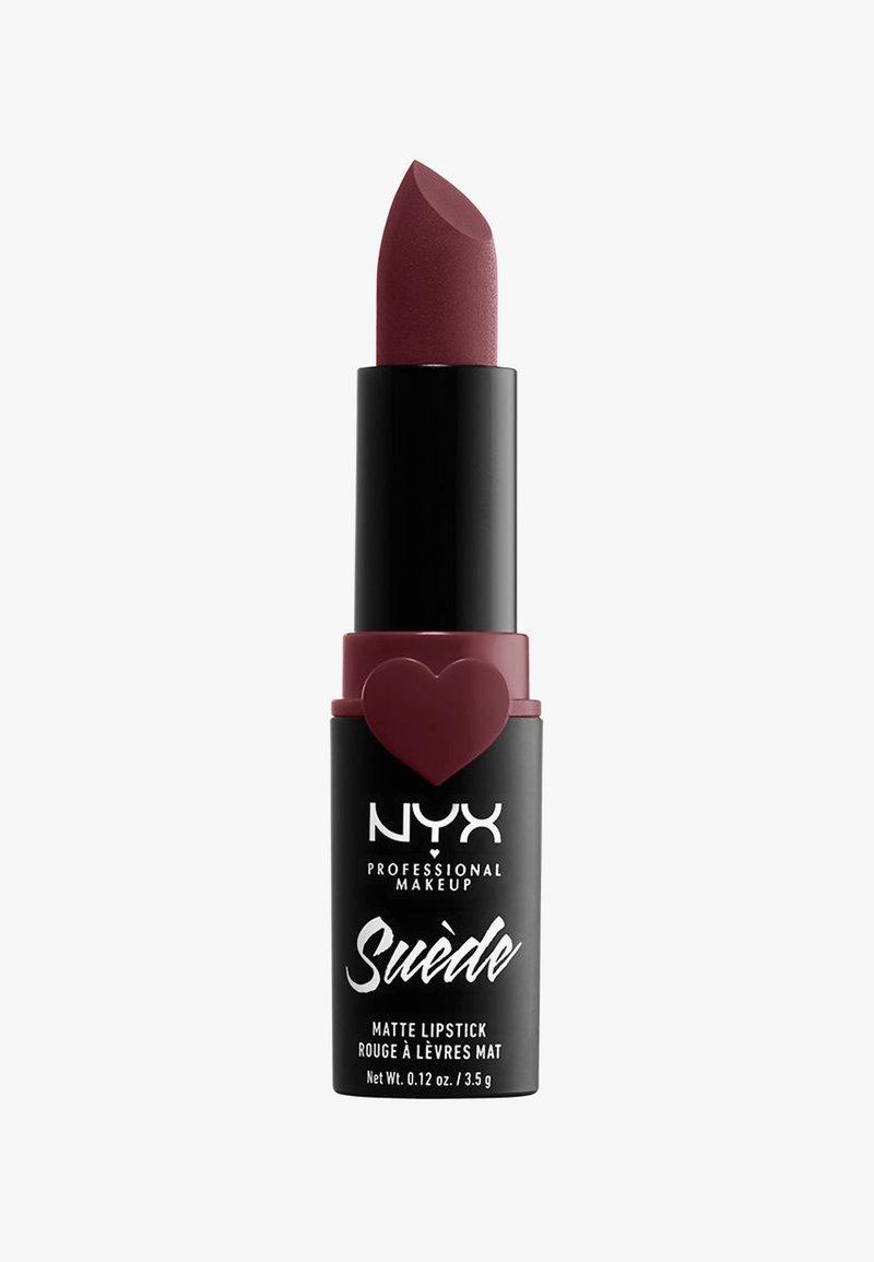 Nyx Professional Makeup - SUEDE MATTE LIPSTICK - Lippenstift - 6 lolita