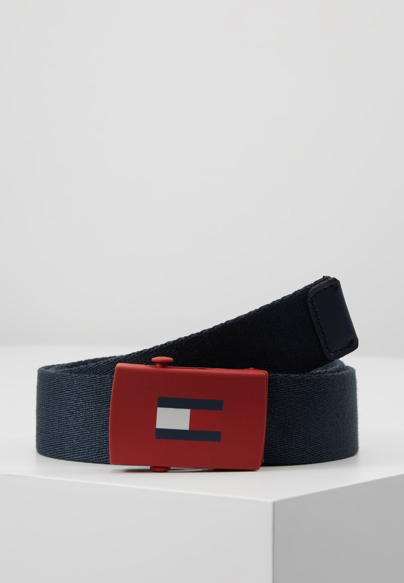 Tommy Hilfiger - KIDS PLAQUE BELT  - Cinturón - blue