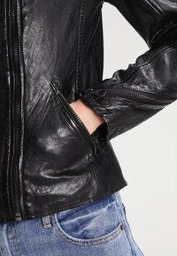 Gipsy - Veste en cuir - black - 4