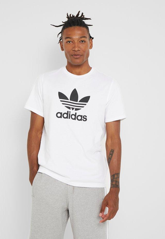 TREFOIL UNISEX - T-shirt print - white