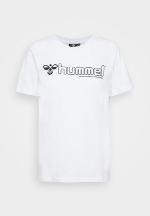 HMLZENIA  - Camiseta estampada - white