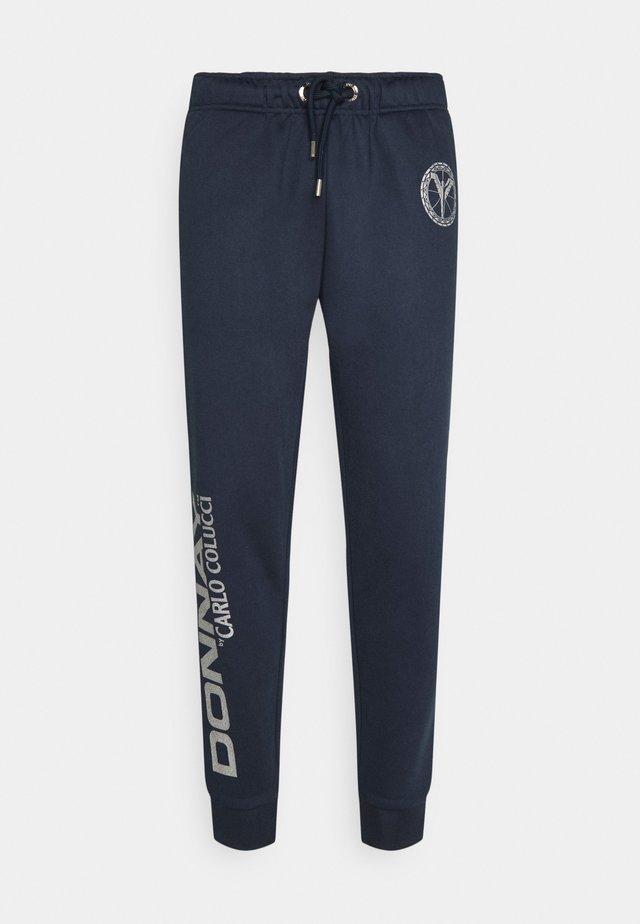 DONNAY X CARLO COLUCCI - Trainingsbroek - dark blue silver