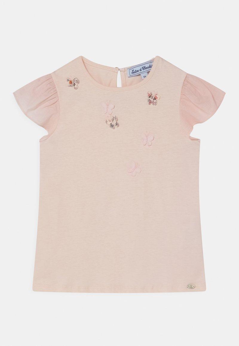 Tartine et Chocolat - Print T-shirt - nude