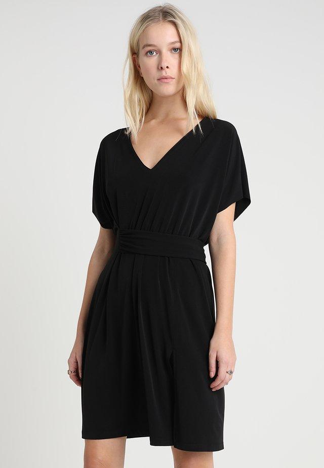 MARIOLA - Jersey dress - black