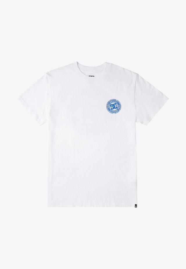 BONTON - T-shirt imprimé - white