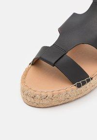 Barbour - LUCILLE - Platform sandals - black - 5