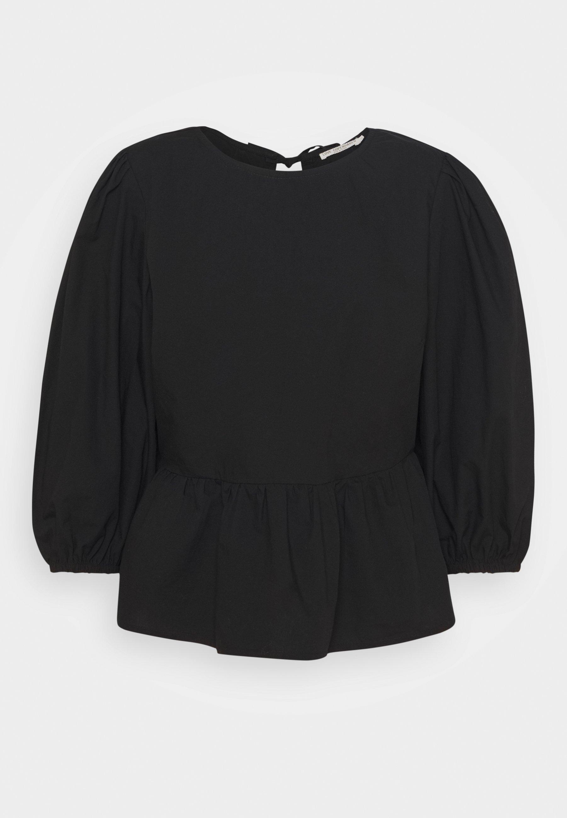 Women BEGIE BLOUSE - Long sleeved top