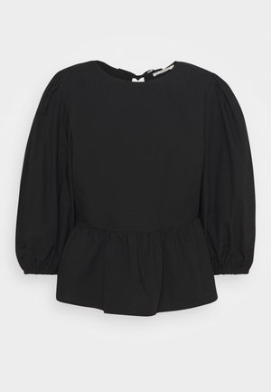 BEGIE BLOUSE - Long sleeved top - pitch black
