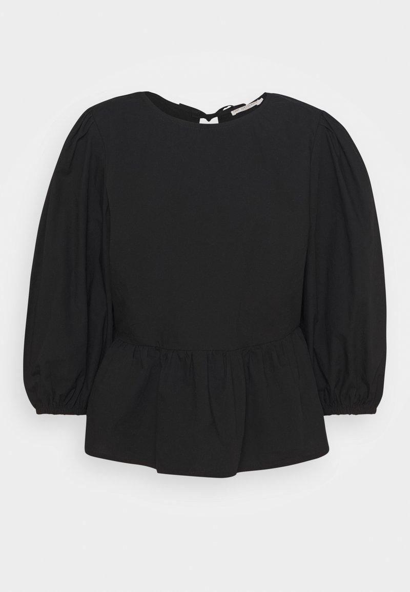 Love Copenhagen - BEGIE BLOUSE - Long sleeved top - pitch black