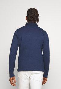 GANT - THE ORIGINAL HEAVY RUGGER - Polo shirt - marine melange - 2